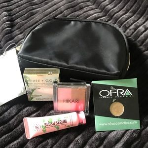 Other - Sample products with makeup bag.
